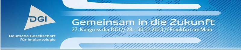 Kiefer Implantat Forschung, Vortrag Zahnimplantat, Deutscher Zahnärztetag 2013