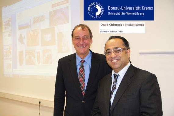 Masterkurs für Implantologie Orale Chirurgie Uni Donau Krems