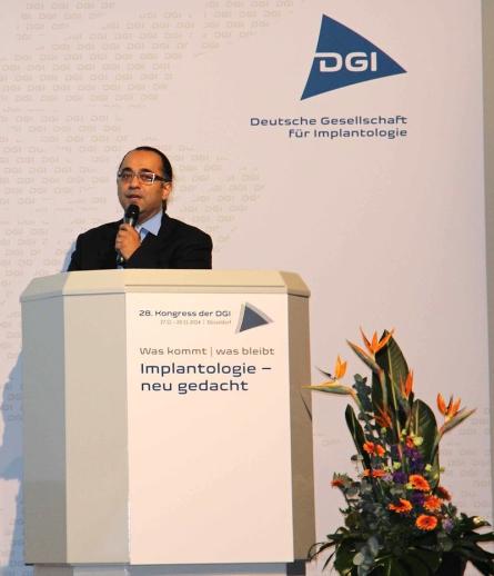 DGI Düsseldorf Referent Zahnimplantate Duisburg Dr. Ayna