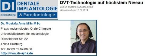 Dr Ayna DVT 3 D Röntgen