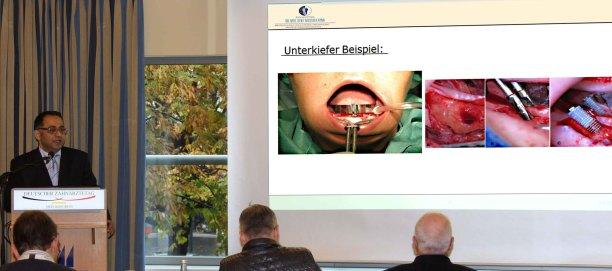 Dr. Ayna  als Referent beim Deutschen Zahnärztetag 2016