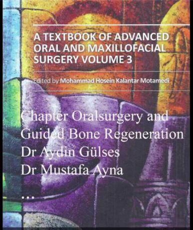 Textbook of advanced oral and maxillofacial surgery volume 3 of Dr. Ayna